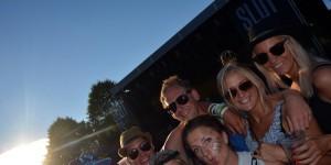 Re-fjes på Slottsfjellfestivalen 2014
