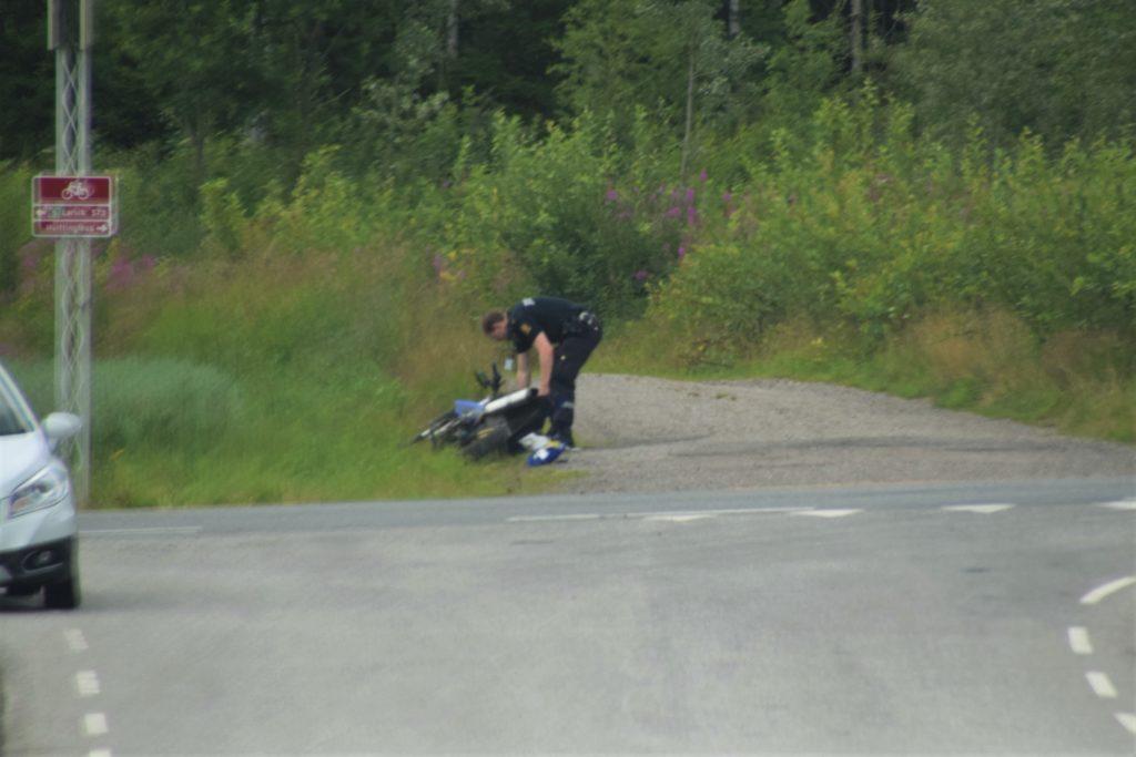 mopedulykke