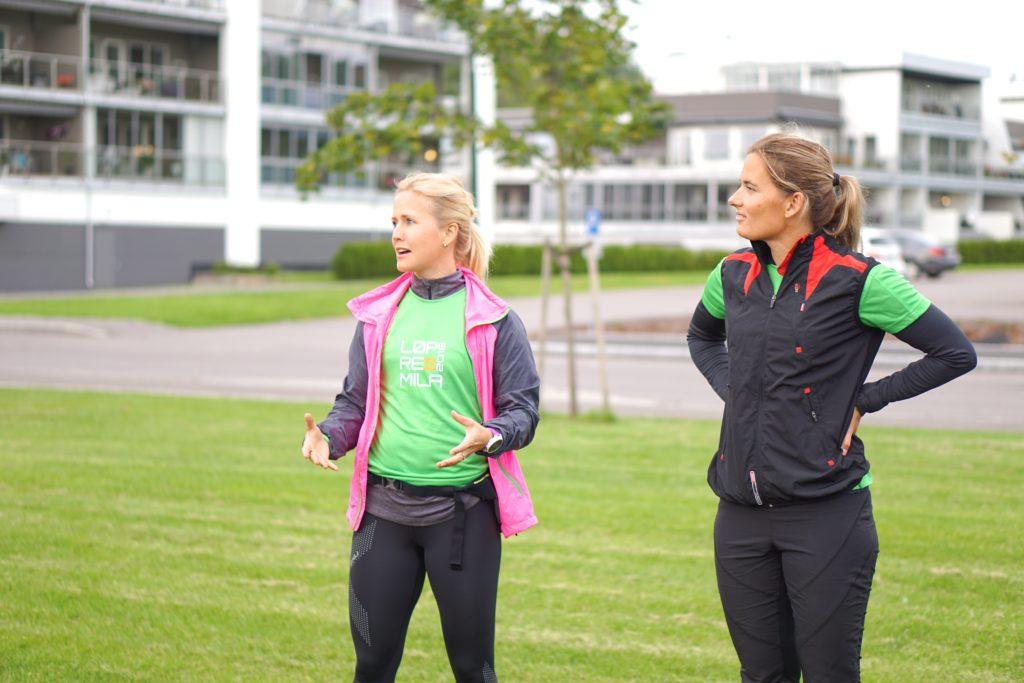 Therese Andersen og Ellen Aas
