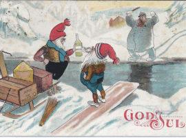 Julekort-historie gjennom mer enn hundre år