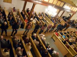 Cowboyfest med Våle kirkekor