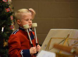 Julekonsert med Våle skolekorps