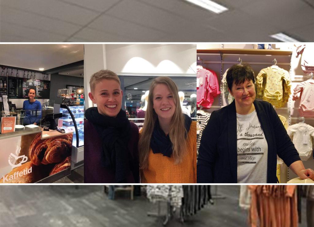0a62a6b9 SATSER PÅ RE-TORVET: Heidi Rødje (46) hos «Kaffetid», Monica Lien (31) og  Reidun Himberg (45) hos «Frøkna på landet», og Line Lerbo (49) hos «Stor og  liten» ...
